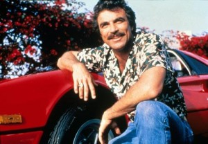 Tom Selleck is the man.