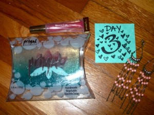 Day 3 Giveaway Goodies