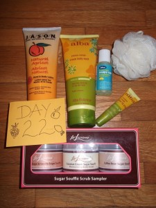 Day 22 Giveaway Goodies