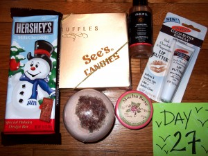 Day 27 Giveaway Goodies