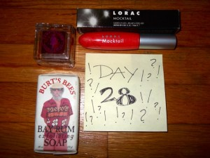 Day 28 Giveaway Goodies