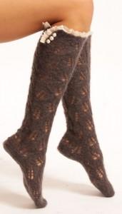 Lowie Mohair Knee Socks