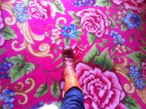 Madonna's Carpet!