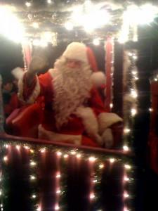 Choo choo Santa!