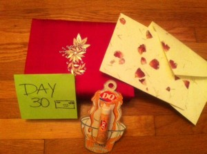 Day 30 Giveaway Goodies