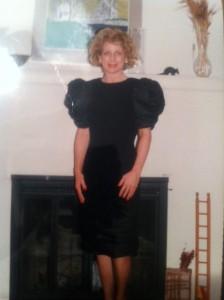 Cheryl in 1992!