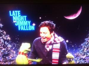 Jimmy Fallon & Muppets serenading...