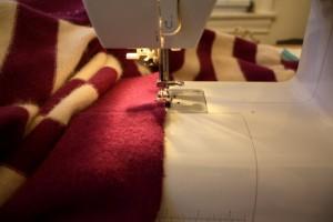 Edge stitching!