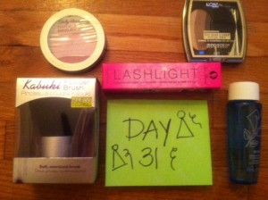 Day 31 Giveaway Goodies