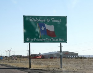We're in Texas, y'all!