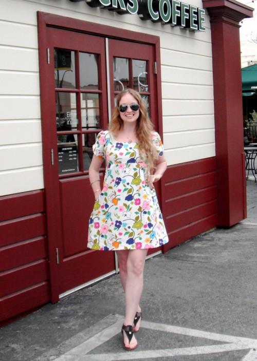 New Dress A Day - DIY - Vintage Dress - Complete 179