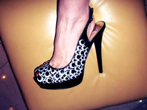 New Dress A Day Louboutin Slingback Shoe DIY