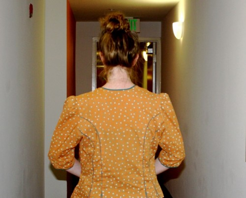 NewDressADay - DIY - Vintage Dress - Marc Jacobs Lookalike - After Back - Day 177