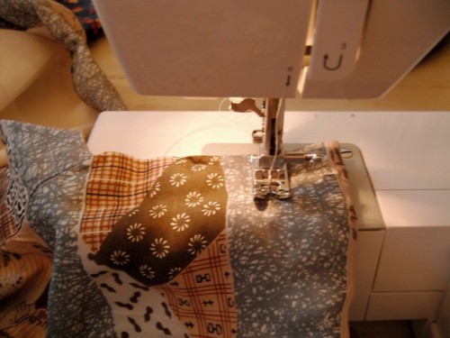 New Dress A Day - DIY - Vintage Dress - Kimono - Sewing Machine 165