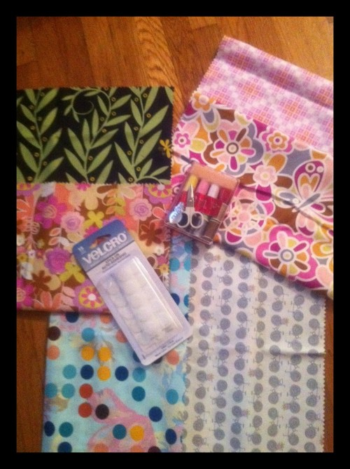 New Dress A Day - Giveaway - Fabric Samples - Velcro - Sewing Supplies