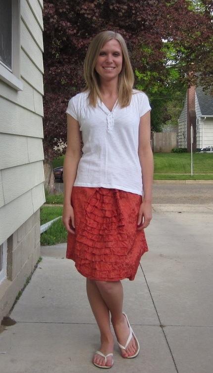 New Dress A Day - Korrie - RIT Dyed Skirt - Day 147
