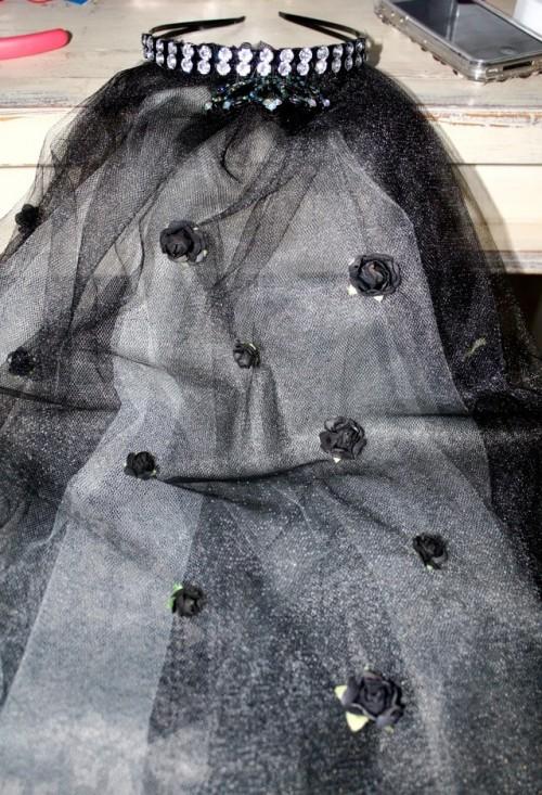 New Dress A Day - Vintage Dress - DIY - Wedding Veil - 148