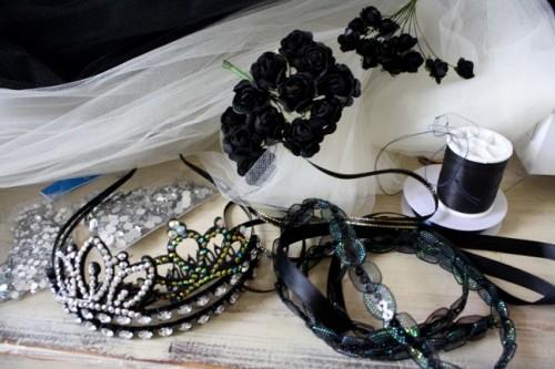 New Dress A Day - Vintage Dress - DIY - Wedding Veil - Supplies - 148
