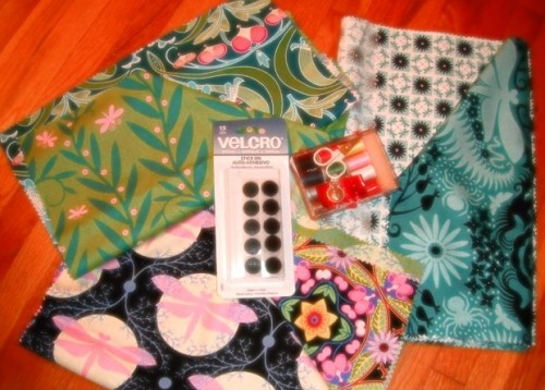 New Dress a Day - Giveaway - Fabric Samples - Velcro - 171