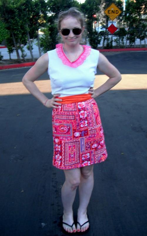 New Dress A Day - DIY - Vintage Dress - After Shot - 114