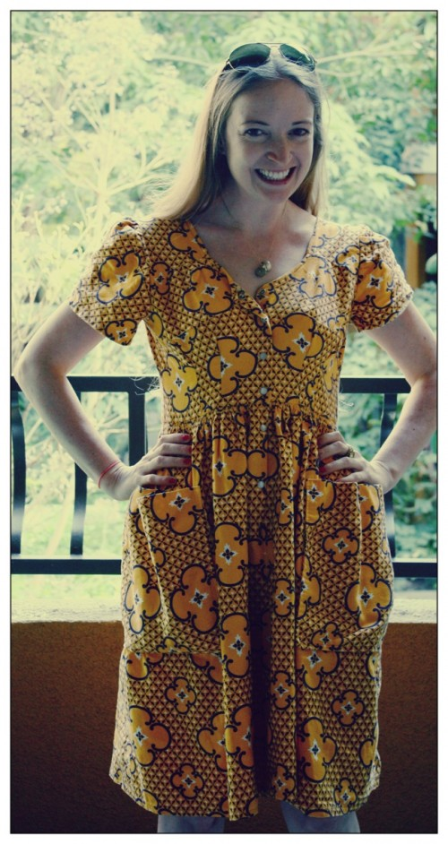 New Dress A Day - DIY - Vintage Dress - Daytime - 137