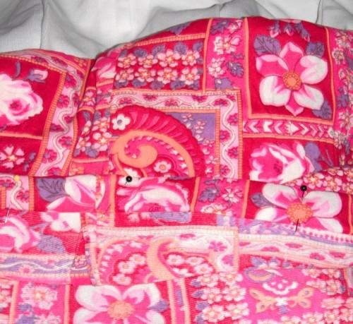 New Dress A Day - DIY - Vintage Dress - Pinned Hem - 114