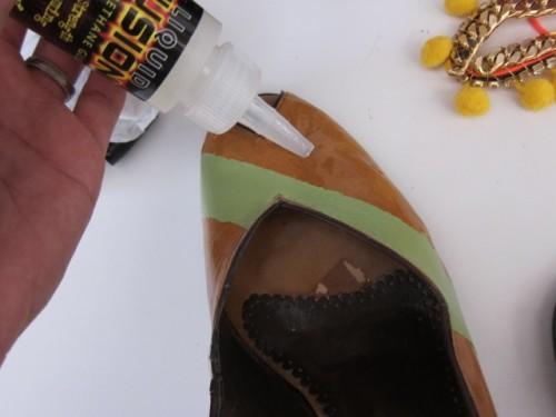 New Dress A Day - DIY - Vintage Dress - Shoe Glue - 113