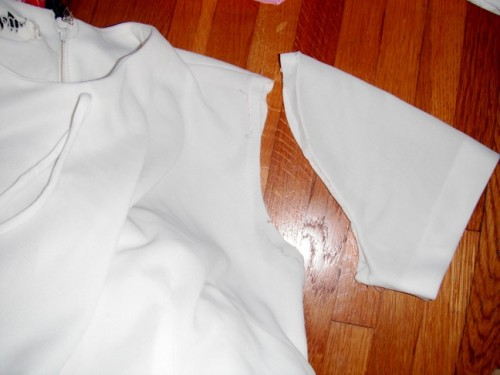 New Dress A Day - DIY - Vintage Dress - Sleeve Removal - 114