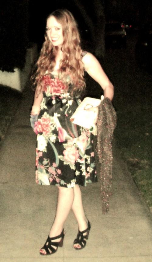 New Dress A Day - VIntage Dress - DIY - After - 128
