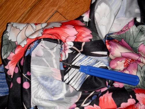 New Dress A Day - VIntage Dress - DIY - Seam Ripper - 128