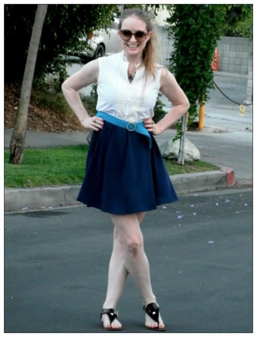 New Dress a Day - DIY - Vintage Dress - After Shot 1 - 134