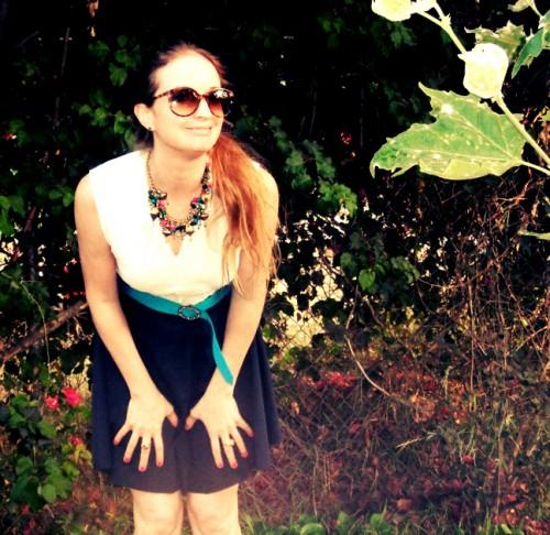 New Dress a Day - DIY - Vintage Dress - After Shot 2 - 134