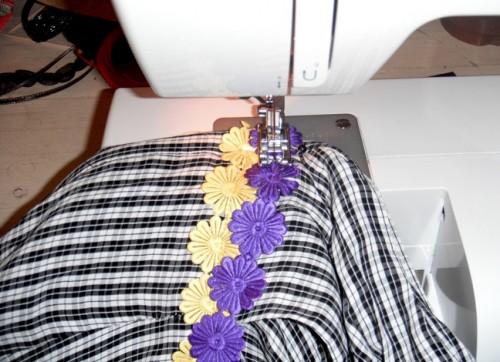 New Dress a Day - DIY - Vintage Dress - Plaid - Sewing Machine - 141