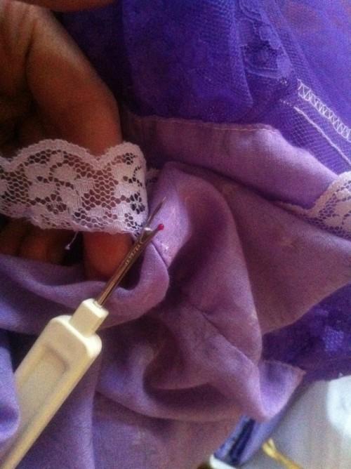 New Dress a Day - DIY - Vintage Dress - Seam Ripper - 116