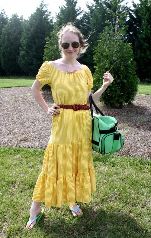 New Dress A Day - DIY - Vintage Dress - After - 89