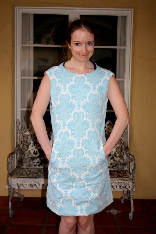 New Dress A Day - DIY - Vintage Dress - Before Dress - 110