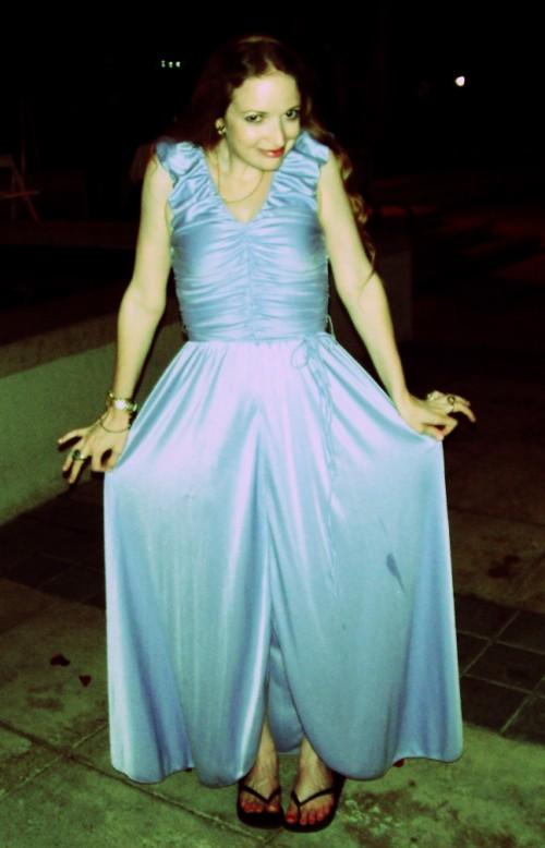 New Dress A Day - DIY - Vintage Dress - Flip Flop Time - 106