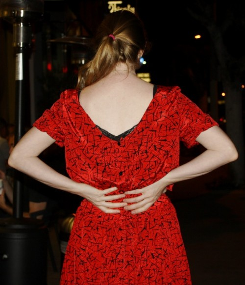 New Dress A Day - DIY - Vintage Dress - From Behind - 93