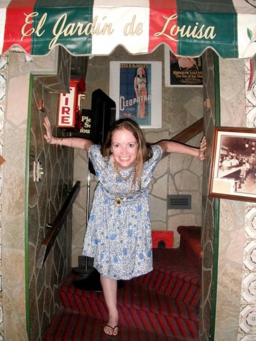 New Dress A Day - DIY - Vintage Dress - Hallway Shot - 87