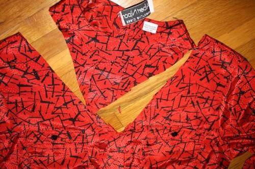 New Dress A Day - DIY - Vintage Dress -Removed Neck - 93