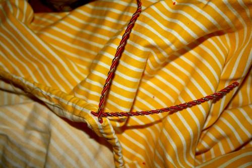 New Dress A Day - DIY - Vintage Dress - Ribbon Through - 89