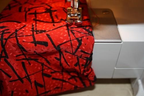 New Dress A Day - DIY - Vintage Dress -Sleeve Stitch - 93