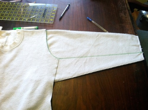 New Dress A Day - DIY - Vintage Dress - Sweatshirt Remake - Mark - 99