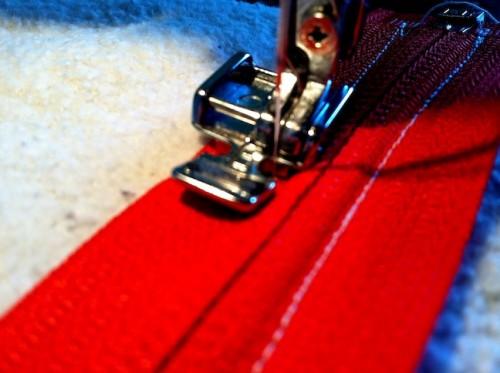 New Dress A Day - DIY - Vintage Dress - Sweatshirt Remake - Sewing Machine - 99