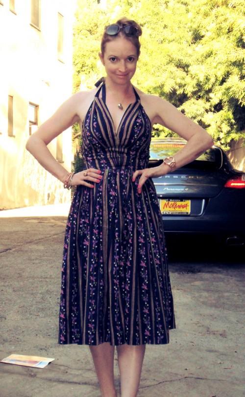 New Dress a Day - DIY - Vintage Dress - After Shot - 103