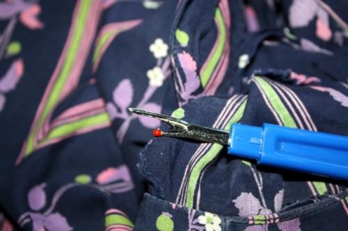 New Dress a Day - DIY - Vintage Dress - Detach Zipper - 103