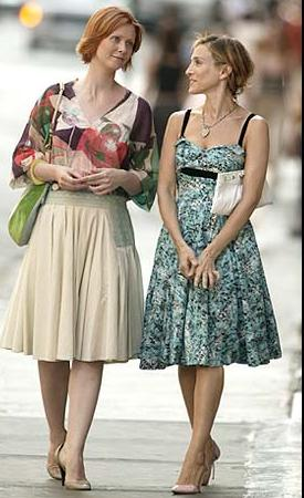 New Dress A Day - DIY - Vintage Dress - Sex and the City - Carrie Bradshaw - Summer Dress