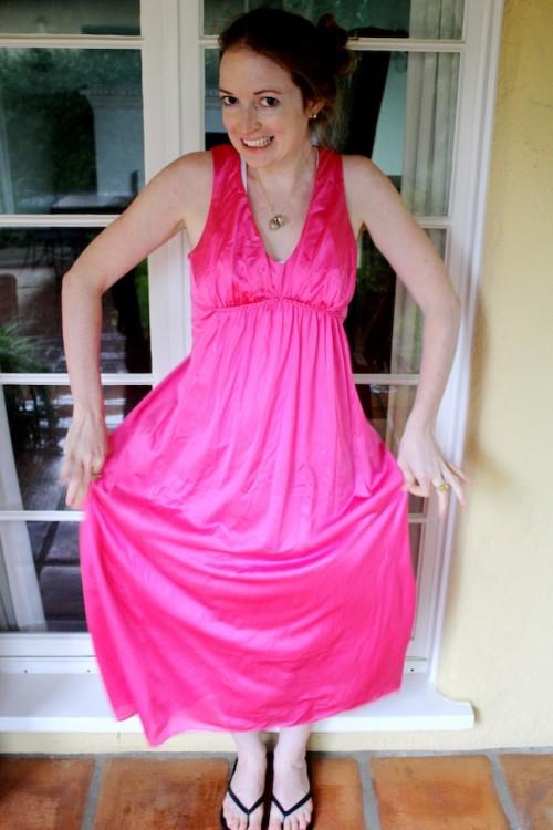 New Dress A Day - DIY - Pink Dress - 72
