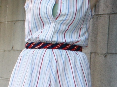 New Dress A Day - DIY - Vintage Dress - Free People Belt - 67