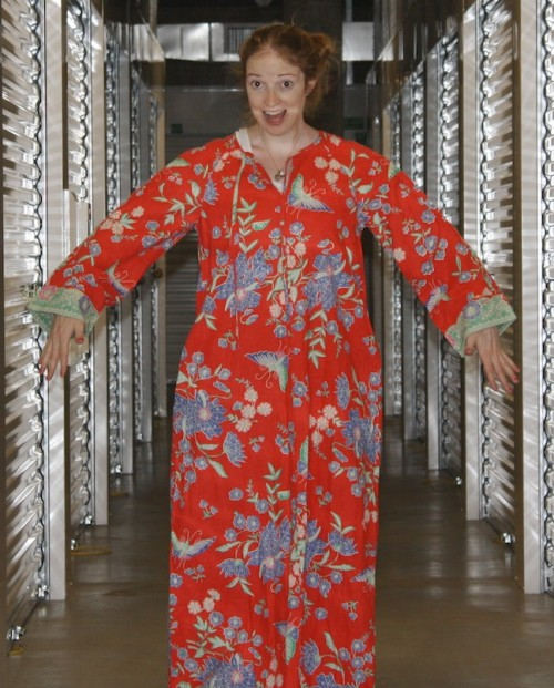 New Dress A Day - DIY - Vintage Muumuu - Before 2 - 54